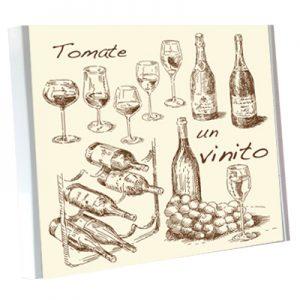cristal vino