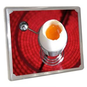 huevo vitro acero